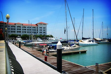 Penang Marineland Suites 槟城海湾民宿 - Tanjung Tokong - Serviced apartment