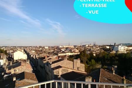 Appart terrasse panoramique centre