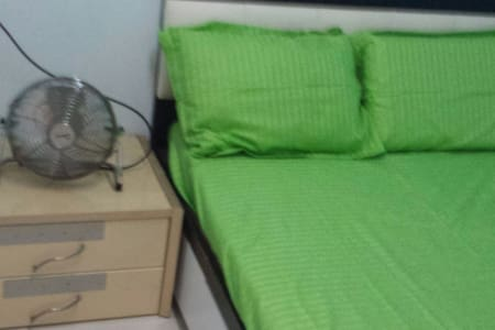 -Near airport bus stop / Sham Shio Po & Nam Cheung MTR station) -Few mins walk to MTR station & bus stops.  -Free WiFi, air-condition , water heater provided. -many local food street