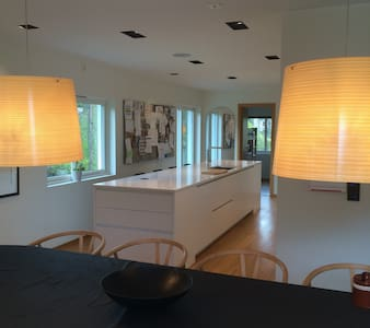 Room in the newly renovated villa near Troldhaugen - Villa