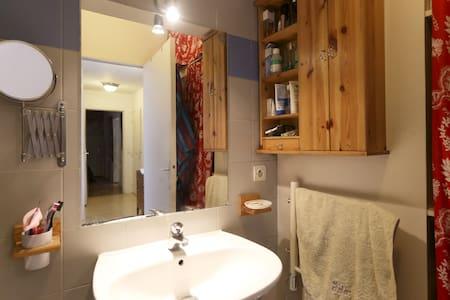 Chambre double avec douche privée - Appartamento