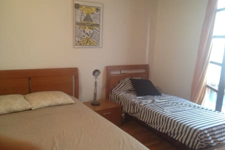 Lovely room with balcony in el born