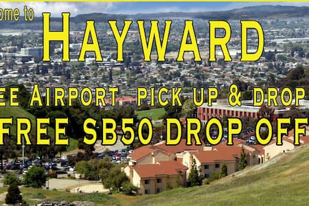 Free Airport pick up  SB50 drop off - House