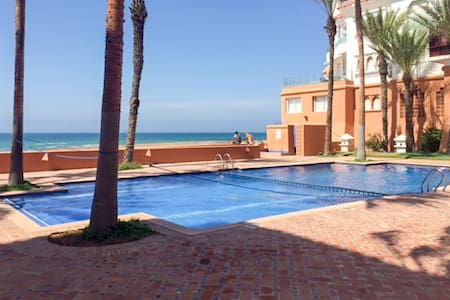 Beautiful flat 20m from the beach - Rabat - Appartement