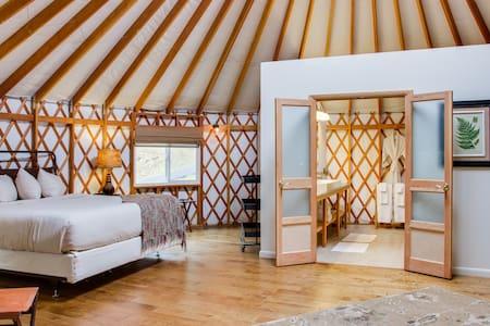 Yurt glamping at Savage River Lodge - Yurt