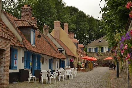 Montreuil-sur-Mer townhouse - Casa