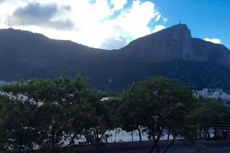 Jogos olímpicos do Rio, de frente para Lagoa - Apartamento