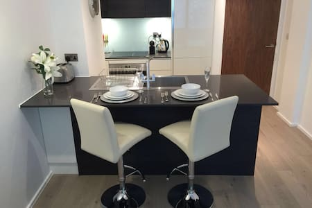 Luxury One Bed with Private Parking - Richmond
