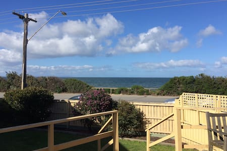 Beach views from the lounge - Daire