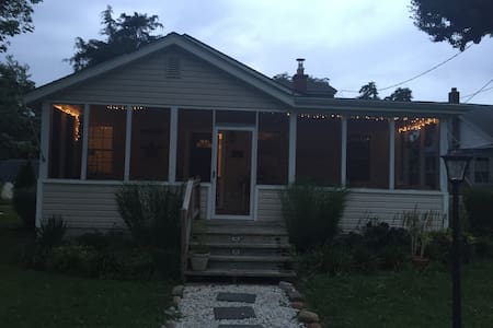 Cozy 4BD Cottage Chesapeake City - Earleville