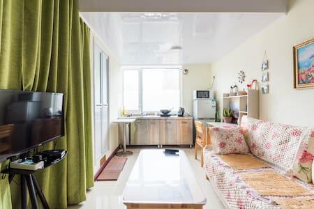 靠近青岛五四广场复式小公寓 - Appartement
