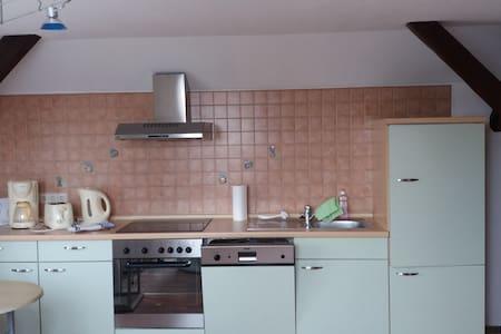 Dachgeschosswohnung zwischen Radebeul und Dresden - Moritzburg - Condominium