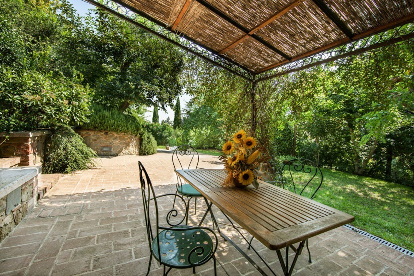 'La Limonaia' apartment : patio