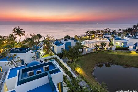 ☆2BR Beachfront Resort -The Crest Santora Hua Hin- - Tambon Hua Hin - Lejlighed