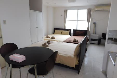 Straight to Sapporo Station / Cozy & Perfect for 5 - Sapporo-Shi - Apartment