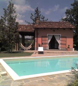 Cozy country nest in Monferrato vineyards - Haus