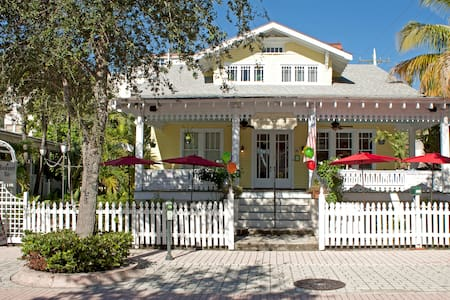 Cozy Key West atmosphere at a Historic B&B - West Palm Beach - Bed & Breakfast