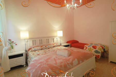 Prince room with luminous ensuite restroom - San Benedetto del Tronto