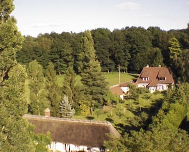 Grande propriété avec tennis et bois - Serquigny - Hus