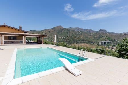Villa con vista mare ed etna - Chianchitta-trappitello - Villa