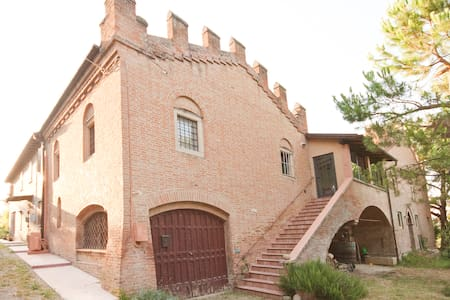 Little Castle near Bologna & Dozza - Apartment