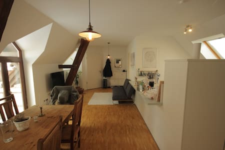 Loft-Style Flat in Historic House - Flat