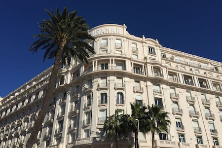 Luxury at the  Miramar Croisette - Cannes - Apartment