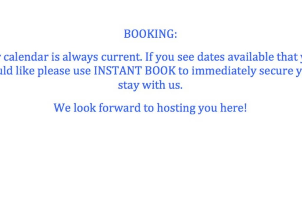 We're lucky to often be booked 2-3 months in advance, please book as soon as you can to avoid disappointment.