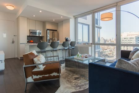 Downtown Brooklyn with great views, and amenities. - Apartment