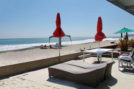 (201) Adorable beach cottage on the sand! - Dana Point - House
