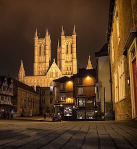 CLEAN B&B. CATHEDRAL & CASTLE AREA - Lincoln - Apartment