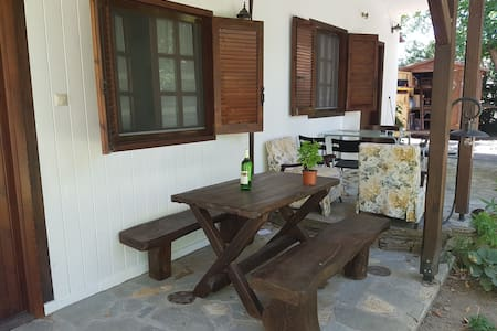 Garden house close to beach (Μ) - Stavros - House