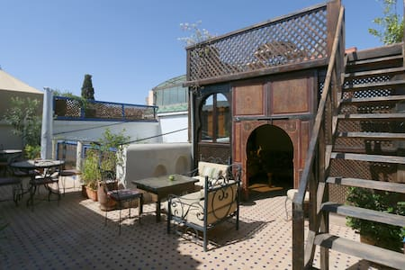 Chambre Twin at Riad Alma Mouassine - Marrakesh - Bed & Breakfast