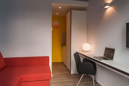 Studio #1 very close Brussels Airport 24h check-in - Teljes emelet