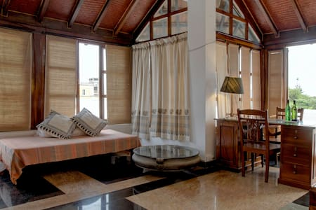 Terrace room with Sea View terrace - Puducherry - Bed & Breakfast