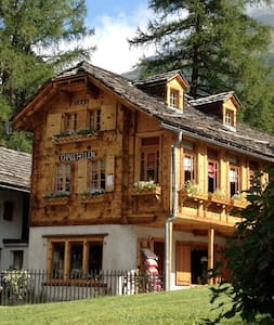 CHALET- ELLEN   1903  ZINAL - Zinal - Lomamökki