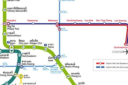 U-SA-BY Suvarnabhumi airport service apartment. - Bangkok - Apartment