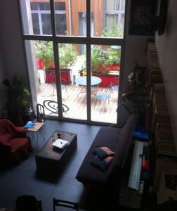 Maison d'architecte, Pantin, Canal de l'Ourcq - Pantin