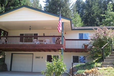 Cozy, country, lake view near town - Coeur d'Alene - Hus