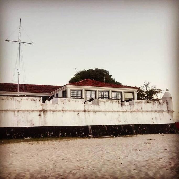 Forte de São Lourenço, Itaparica. Only a short drive away.
