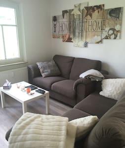 Große Wohnung/ Appartment - voll ausgestattet - Apartemen