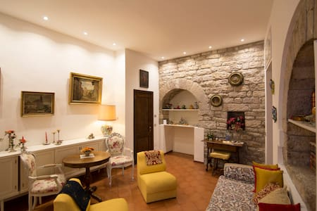 The charming view on Piazza del Comune in Assisi - Appartement