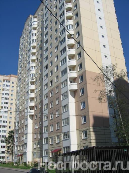 Балконы с эркерами в доме серии п-111м