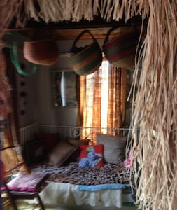 African Room #2 in Iconic Houseboat - Sausalito - Båd