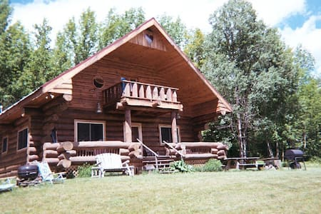 Rustic log cabin retreat - North Blenheim - Stuga