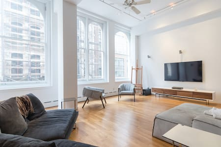 Unique TriBeCa 2000sf loft - Nueva York