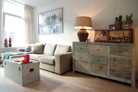 Cozy apt. for a lovely stay in AMS! - Apartemen