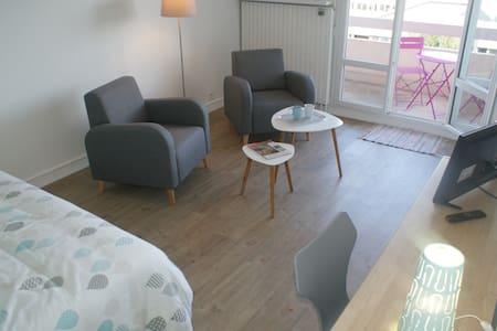 Appartement Perle d'Ô, Gare et Centre-ville à pied - Saint-Brieuc - Apartament