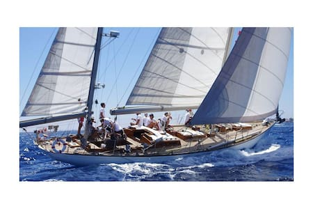 Alexandra Old Fashion Boat - Korfu