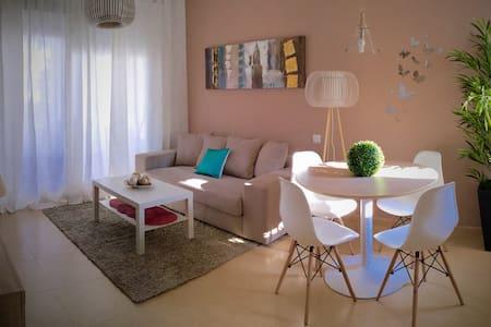 Lujoso Apto. 2 hab terraza y jardín - Torre-Pacheco - Appartement